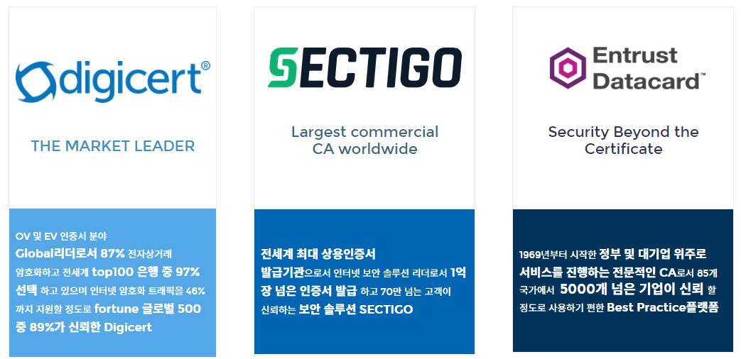 글로벌 SSL Ca