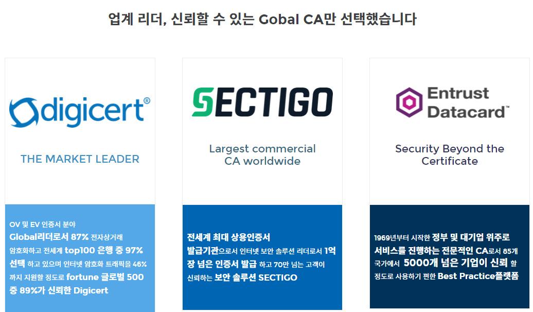 SSL 글로벌 CA
