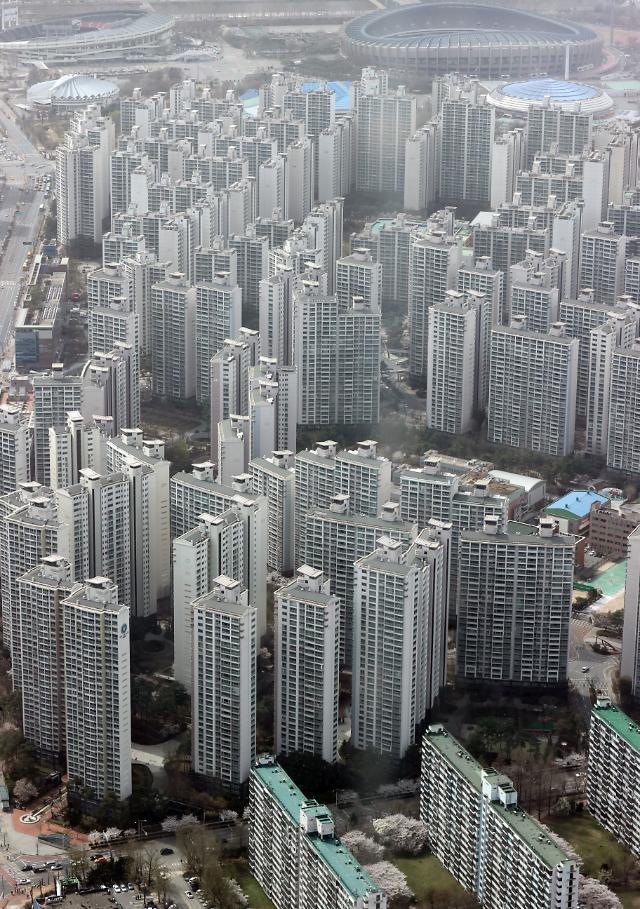 서울 송파구 일대 아파트 단지 모습.[사진=연합뉴스]