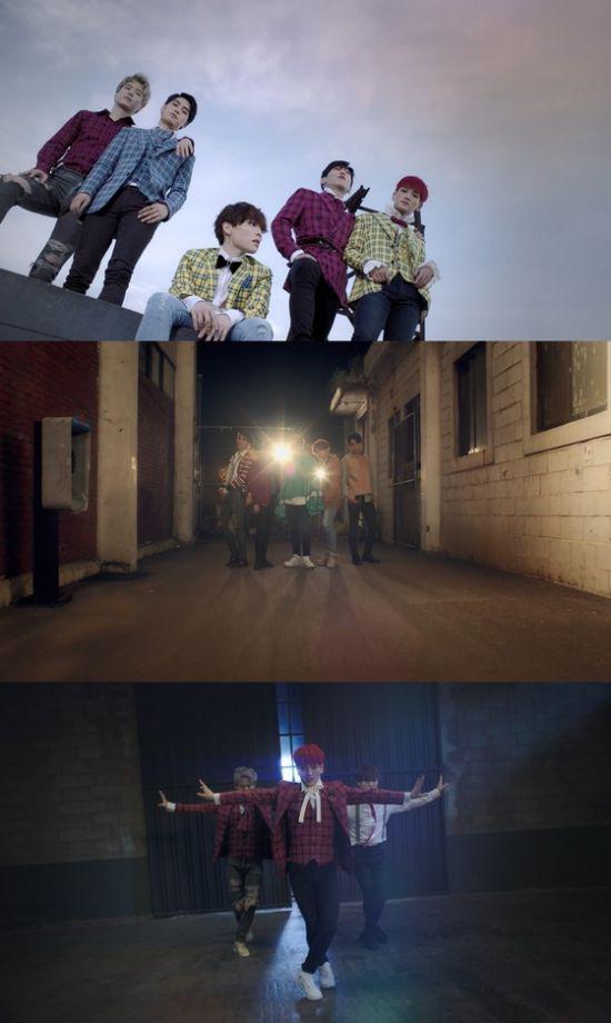 ▲ 알파벳이 신곡 '신세계'의 티저 영상을 공개했다.   © 사진=W엔터테인먼트, AZ엔터테인먼트