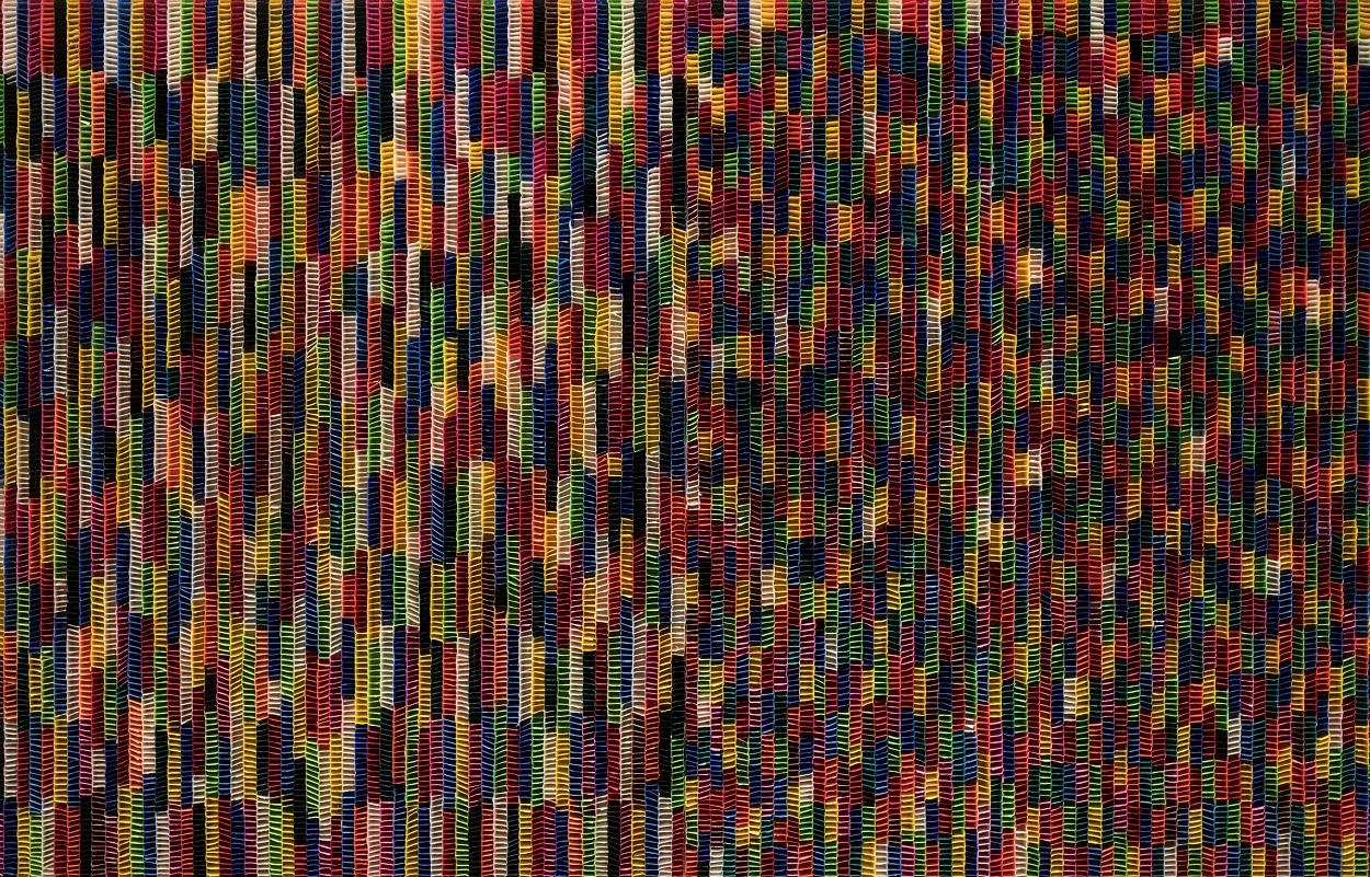 지물(紙物), 140×110㎝(each) Mixed media on panel, 2020