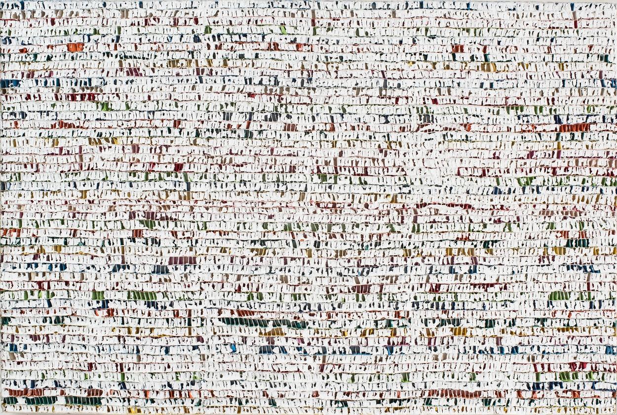 지물(紙物), 80×120㎝ 한지 아크릴, 2011