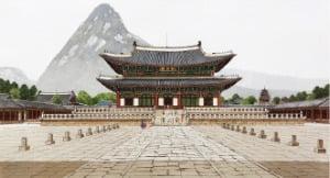 [그림이 있는 아침] 수채물감으로 빚은 고궁의 美…안석준 '근정전'